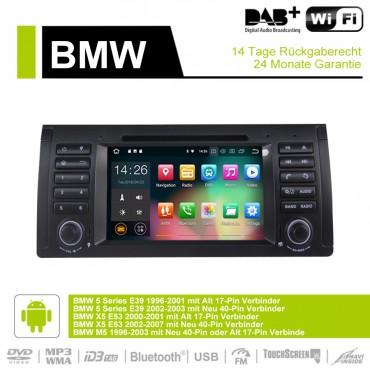 7 Zoll Android 9.0  Autoradio / Multimedia 4GB RAM 32GB ROM  Für BMW E53 E39 X5 M5