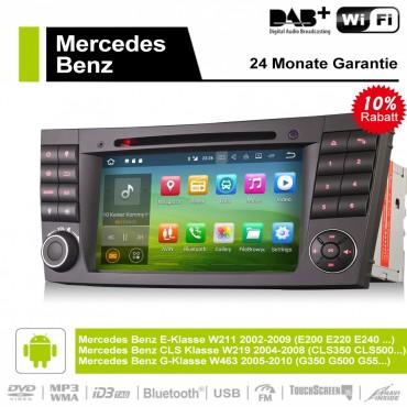7 Zoll Android 9.0 Autoradio / Multimedia 4GB RAM 32GB ROM Für E-Klasse W211,CLS Klasse W219,G-Klasse W463