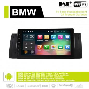 9 Zoll Android 9.0 Autoradio / Multimedia 4GB RAM 32GB ROM Für BMW X5 E53 M5 E39