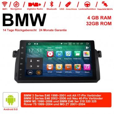 7 Zoll Android 9.0  Autoradio / Multimedia 4GB RAM 32GB ROM Für BMW 3 Series E46 BMW M3 Rover 75