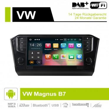 9 Zoll Android 9.0 Autoradio / Multimedia 4GB RAM  32GB ROM Für VW Magnus B7