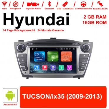 7 Zoll Android 9.0 Autoradio / Multimedia 2GB RAM 16GB ROM Für Hyundai TUCSON/ix35 Mit WiFi NAVI Bluetooth USB