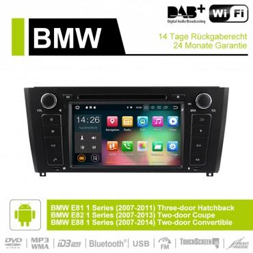 7 Zoll Android 9.0  Autoradio / Multimedia 4GB RAM 32GB ROM Für BMW E81 E82 E88