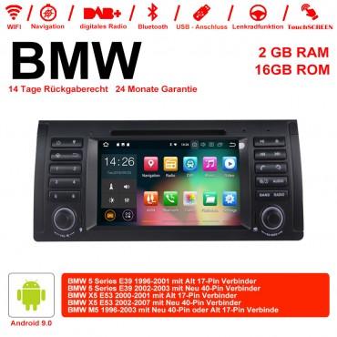 7 Zoll Android 9.0 Autoradio/Multimedia 2GB RAM 16GB ROM Für BMW X5 E53 E39
