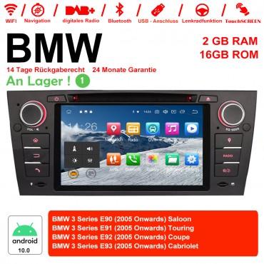 Android 10.0 Quad-core 2G RAM 16G flash Car DVD Player Radio für BMW 3 Series E90 E91 E92 E93