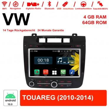 8 Zoll Android 10.0 Autoradio / Multimedia 4GB RAM 64GB ROM Für VW TOUAREG Mit WiFi NAVI Bluetooth USB