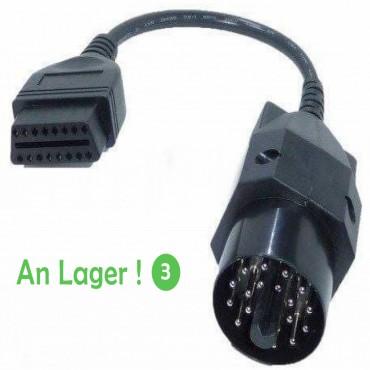 BMW Adapter Stecker 20Pin to 16pin Kabel EDIABAS