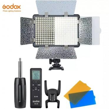 Godox LF308D 18W 5600K 308 stücke Perlen LED-Blitz Licht, smartphone APP 2,4G Drahtlose Steuerung für Hochzeit Fotografie Video Aufnahme