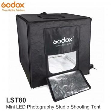 Godox LST80 Mini LED Fotografie Studio Schießen Zelt 80*80*80 cm 3 stücke LED lampe band Power 60 watt 13500 ~ 14500 Lumen mit Tragen Tasche