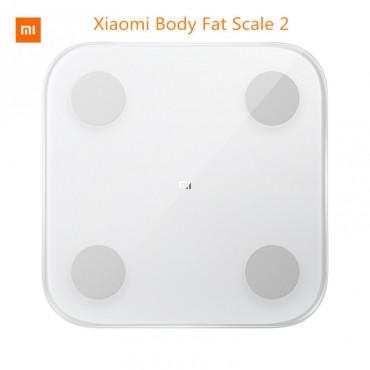 Original Xiaomi Smart Körper Fett Zusammensetzung Skala 2 Bluetooth 5,0 Balance Test 13 Körper Datum BMI Gesundheit Gewicht Skala LED display