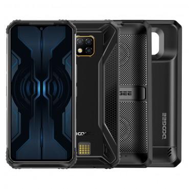 DOOGEE S95 PRO 4G Outdoor Smartphone Android 9.0 Dual SIM Handy Helio P90 8GB +256GB 6,3 Zoll IP68/IP69K Wasserdicht, 5150mAh, NFC Kabellose Aufladung + Super Vision