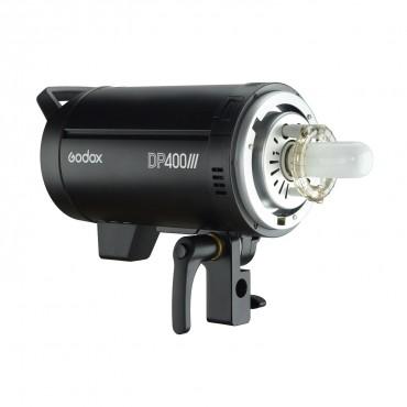 Godox DP400III Professional Studio Blitzlicht 400Ws 2.4G Wireless X-System Blitzlicht mit Bowens Mount 5600K Farbtemperatur-Fotoblitzen für Hochzeitsporträts Modewerbung