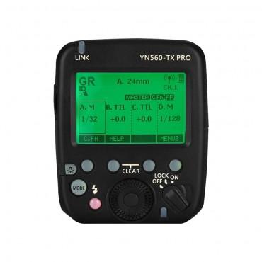 YONGNUO YN560-TX PRO 2,4G On-Camera-Blitzauslöser Speedlite für Nikon DSLR-Kameras RF602-RX