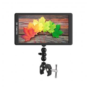"Feelworld F570 4K 5,7 ""Ultra-dünner tragbarer Feldmonitor für die Kamera"