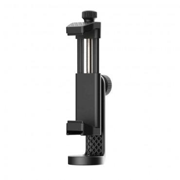 Ulanzi ST-17 Telefonklemmenhalter 360 ° drehbar horizontal vertikal Schießen mit Kaltschuh Universal 1/4 Montage