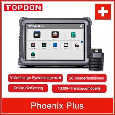Topdon Phoenix Plus Auto Diagnose Werkzeug OBD2 II Volle Funktion Diagnose Automotive Professionelle Diagnose Diagnost ECU Codierung