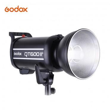 Godox QT600IIM 600WS GN76 Studio Fotografie Stroboskop Blitzlicht Eingebauter 2,4-G-Funkempfänger Hochgeschwindigkeitssynchronisation mit Bowen-Halterung