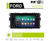 2 Din Android 9.0 Quad-core 2GB RAM 16GB  flash AutoRadio für Ford Focus(2009-2010)
