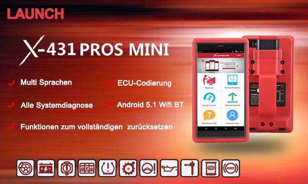 X431 Pros Mini