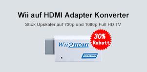 Wii auf HDMI Adapter Konverter